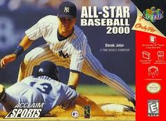 All Star Baseball 2000 DMG LABEL    NINTENDO 64