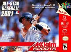 All Star Baseball 2001     NINTENDO 64