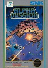 Alpha Mission DMG LABEL    NINTENDO ENTERTAINMENT SYSTEM