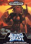 Altered Beast DMG LABEL    SEGA GENESIS