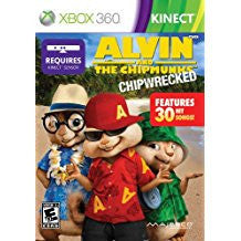 Alvin & Chipmunks Chipwrecked    XBOX 360