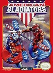 American Gladiators DMG LABEL    NINTENDO ENTERTAINMENT SYSTEM