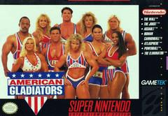American Gladiators BOXED COMPLETE    SUPER NINTENDO ENTERTAINMENT SYSTEM