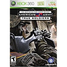 Americas Army True Soldiers    XBOX 360