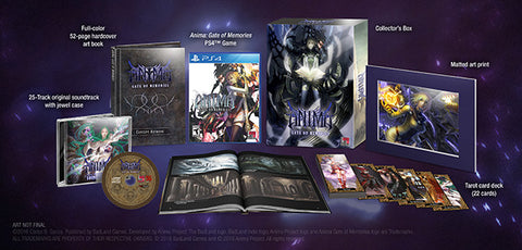 Anima Gate of Memories Beyond Fantasy Edition    PLAYSTATION 4