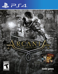 Arcania The Complete Tale    PLAYSTATION 4