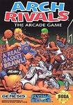 Arch Rivals The Arcade Game DMG LABEL    SEGA GENESIS