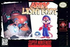 Ardy Lightfoot DMG LABEL    SUPER NINTENDO ENTERTAINMENT SYSTEM