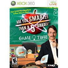 Are You Smarter Than A 5th Grader Game Time    XBOX 360