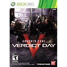 Armored Core Verdict Day    XBOX 360