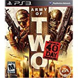 Army Of Two 40th Day    PLAYSTATION 3