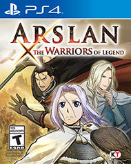 Arslan The Warriors of Legend    PLAYSTATION 4