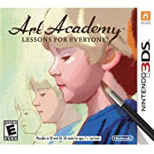 Art Academy Lessons For Everyone    NINTENDO 3DS