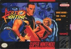 Art of Fighting DMG LABEL    SUPER NINTENDO ENTERTAINMENT SYSTEM