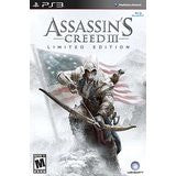 Assassins Creed 3 Collectors Edition    PLAYSTATION 3