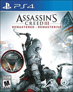 Assassins Creed 3 Remastered    PLAYSTATION 4