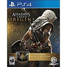 Assassins Creed Origins Steelbook Gold Edition    PLAYSTATION 4