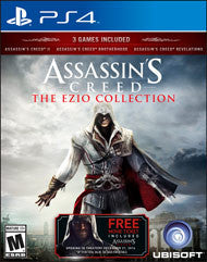 Assassins Creed The Ezio Collection    PLAYSTATION 4