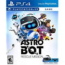 Astro Bot Rescue Mission    PLAYSTATION 4 VR