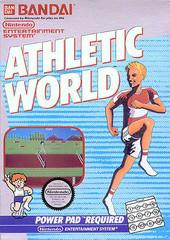 Athletic World DMG LABEL    NINTENDO ENTERTAINMENT SYSTEM