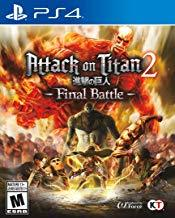Attack On Titan 2 Final Battle    PLAYSTATION 4