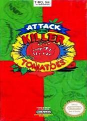 Attack of the Killer Tomatoes DMG LABEL    NINTENDO ENTERTAINMENT SYSTEM