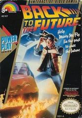 Back to the Future DMG LABEL    NINTENDO ENTERTAINMENT SYSTEM