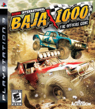 Baja 1000 Score International The Official Game    PLAYSTATION 3