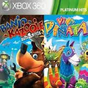 Banjo Kazooie Nuts And Bolts & Viva Pinata Bundle (BC)    XBOX 360