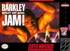 Barkley Shut Up and Jam! BOXED COMPLETE    SUPER NINTENDO ENTERTAINMENT SYSTEM
