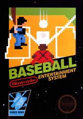 Baseball DMG LABEL    NINTENDO ENTERTAINMENT SYSTEM