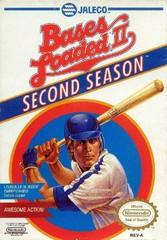 Bases Loaded II Second Season DMG LABEL    NINTENDO ENTERTAINMENT SYSTEM