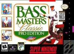 Bass Masters Classic Pro Edition BOXED COMPLETE    SUPER NINTENDO ENTERTAINMENT SYSTEM