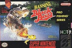 Bassins Black Bass with Hank Parker BOXED COMPLETE    SUPER NINTENDO ENTERTAINMENT SYSTEM