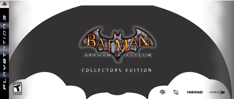 Batman Arkham Asylum Collectors Ed    PLAYSTATION 3