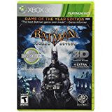 Batman Arkham Asylum Game Of The Year Ed    XBOX 360