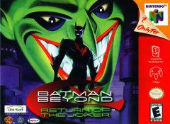 Batman Beyond Return of the Joker DMG LABEL    NINTENDO 64