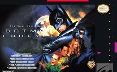 Batman Forever DMG LABEL    SUPER NINTENDO ENTERTAINMENT SYSTEM