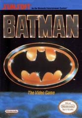 Batman DMG LABEL    NINTENDO ENTERTAINMENT SYSTEM