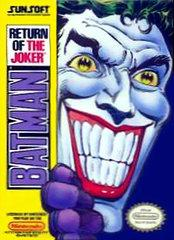 Batman Return of the Joker     NINTENDO ENTERTAINMENT SYSTEM