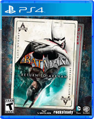 Batman Return to Arkham    PLAYSTATION 4