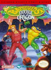 Battletoads & Double Dragon DMG LABEL    NINTENDO ENTERTAINMENT SYSTEM