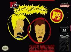 Beavis and Butt head    SUPER NINTENDO ENTERTAINMENT SYSTEM