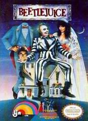 Beetlejuice BOXED COMPLETE    NINTENDO ENTERTAINMENT SYSTEM