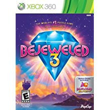 Bejeweled 3 With Bejeweled Blitz Live    XBOX 360