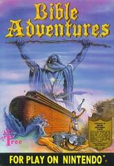 Bible Adventures DMG LABEL    NINTENDO ENTERTAINMENT SYSTEM