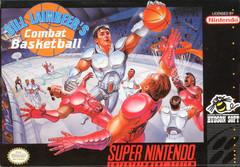 Bill Laimbeers Combat Basketball BOXED COMPLETE    SUPER NINTENDO ENTERTAINMENT SYSTEM