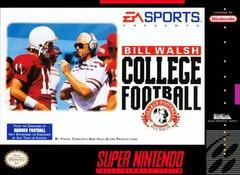 Bill Walsh College Football DMG LABEL    SUPER NINTENDO ENTERTAINMENT SYSTEM