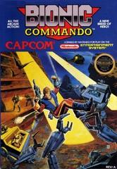 Bionic Commando DMG LABEL    NINTENDO ENTERTAINMENT SYSTEM