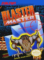 Blaster Master DMG LABEL    NINTENDO ENTERTAINMENT SYSTEM